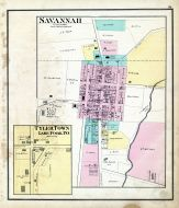 Savannah, Tyler Town, Lake Fork P.O., Ashland County 1874