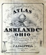 Title Page, Ashland County 1874