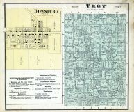 Troy Township, Rowsburg, Ashland County 1874