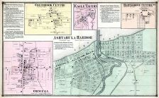 Ashtabula Harbor, Colebrook Centre, Eagle Tavern, Hartsgrove Centre, Orwell, Ashtabula County 1874