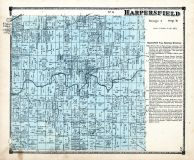 Harperfield Township, Cork P.O, Ashtabula County 1874