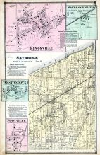 Kingsville, Saybrook Station, Saybrook, West Andover, Footville, Ashtabula County 1874