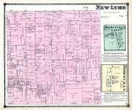 New Lyme Township, Brownville, Dodgeville, Ashtabula County 1874