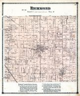 Richmond Township, Steamburg P.O, Ashtabula County 1874