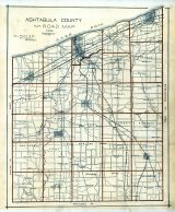 Road Map, Ashtabula County 1905