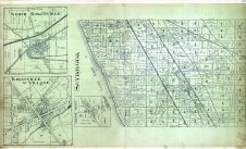 Saybrook, Saybrook Corners, Kingsville Village, Kingsville - North, Ashtabula County 1905