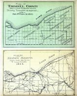 Trumbull County - Plan, Western Reserve - Outline Map, Ashtabula County 1905