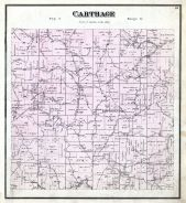 Carthage, Lottridge P.O., Athens County 1875