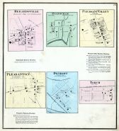 Hebardsville, Evansville, Pleasant Valley, Pleasanton, Detroit, Torch, Athens County 1875