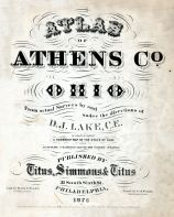 Title Page, Athens County 1875