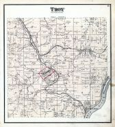 Troy Township, Coolville, Hockingport, Torch P.O., Ohio River, Athens County 1875