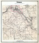 York Township, Bessemer, Floodwood Station, Nyo, Bretland, Lick Run Station, Nelsonville, Athens County 1875