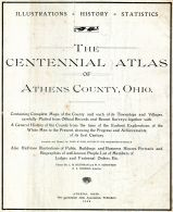 Title Page, Athens County 1905