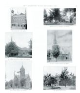 J.H. Grothaus, St. Peters Evangelical Church, St. Paul's Luthern Church, Zion Reform Church, Auglaize County 1917