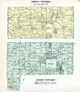 German Township, Jackson Township, Minster, New Bremen, Auglaize County 1917
