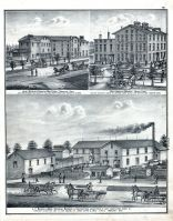 J. F. Bender and Bros., John Schelley's Hamilton Malt House, Henry Eger, West hamilton Brewery, Butler County 1875