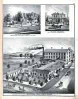 Miami Paper Mills, Beckett , Laurie and Co., Hon. Lewis D. Campbell, James E Campbell Residence, Butler County 1875