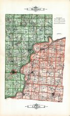 Madison Township, Lemon Township, Doty's Plat, Butler County 1914