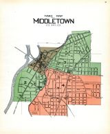 Middletown - Ward Map, Butler County 1914
