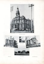 Clark County Court House, County Jail, Soldiers' Monument