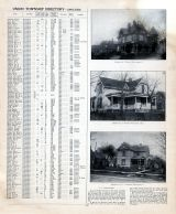 A.L. Bailey, L.A. Wyson and P.C. Clevenger Residences, Clinton County 1903