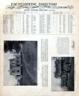 Adams Township Directory 002, A.J. Wilson and N.H. Moore Residences, Clinton County 1903