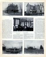 E.A. Lewis, Wm. Pavey and G.A. Pavey Residences, Clinton County 1903