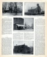 Lee's Creek Christian Church, John W. Matthews, O.D. Armstrong and P.C. Morris Residences, Clinton County 1903