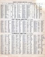 Vernon Township Directory 002, Port Williams Directory, Clarksville Directory 001, Clinton County 1903