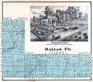 Dallas Township, Crawford County 1873