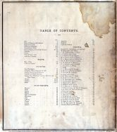 Table of Contents, Crawford County 1873