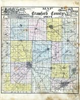 County Map, Crawford County 1894