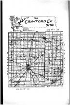 Crawford County Map, Crawford County 1912
