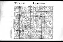 Texas and Lykens Townships, Lykens, Plankton, Wingerts Corners, Benton, Crawford County 1912