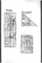 Todd Township, Lemert, Oceola, Crawford County 1912