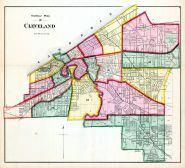 Cleveland - Index Map, Cuyahoga County 1874