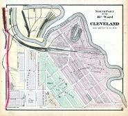 Cleveland - Ward 13 - North, Cuyahoga County 1874