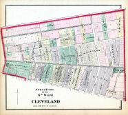 Cleveland - Ward 6 - North, Cuyahoga County 1874