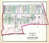 Cleveland - Ward 6 - South, Cuyahoga County 1874