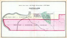 Cleveland - Wards 14 - South West, 18 - West, Cuyahoga County 1874
