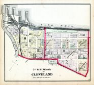 Cleveland - Wards 2, 3, Cuyahoga County 1874