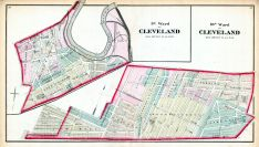 Cleveland - Wards 9, 10, Cuyahoga County 1874