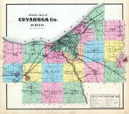 Outline Map, Cuyahoga County 1874