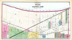 West Cleveland - North, Cuyahoga County 1874