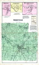 Greenville, Pikeville, Coleville, Beamsville, Woodington, Darke County 1875