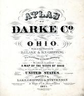 Title Page, Darke County 1875