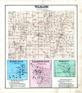 Wabash, North Star, Lightsville, Rossville, Darke County 1875