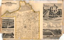 Margaretta Township, Erie County 1874