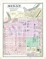 Milan, Erie County 1874