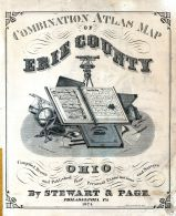 Title Page, Erie County 1874